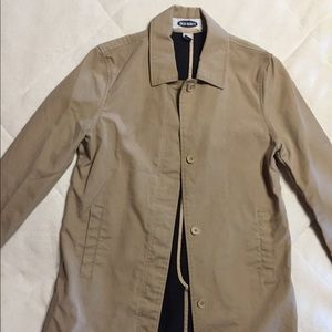Old Navy Cotton Trench Coat - Tan - Size Sm